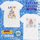 TOUR 2020 LAUV HOW IM FEELING SUMMER WHITE TEE W DATES CODE EP01