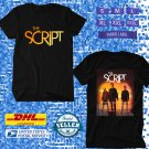 TOUR 2020 THE SCRIPT SUNSET AND FULL MOON WORLD TOUR BLACK TEE W DATES CODE EP01