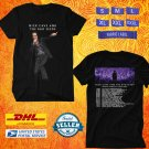 TOUR 2020 NICK CAVE AND THE BAD SEEDS N.AMERICAN FALL TOUR BLACK T SHIRT W DATES CODE EP03