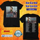TOUR 2020 LUKE BRYAN PROUD TO BE RIGHT HERE NEW DATES BLACK TEE W DATES CODE EP03