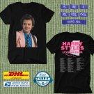 TOUR 2021 HARRY STYLES LOVE ON WORLD TOUR BLACK TEE SHIRT W DATES CODE EP02