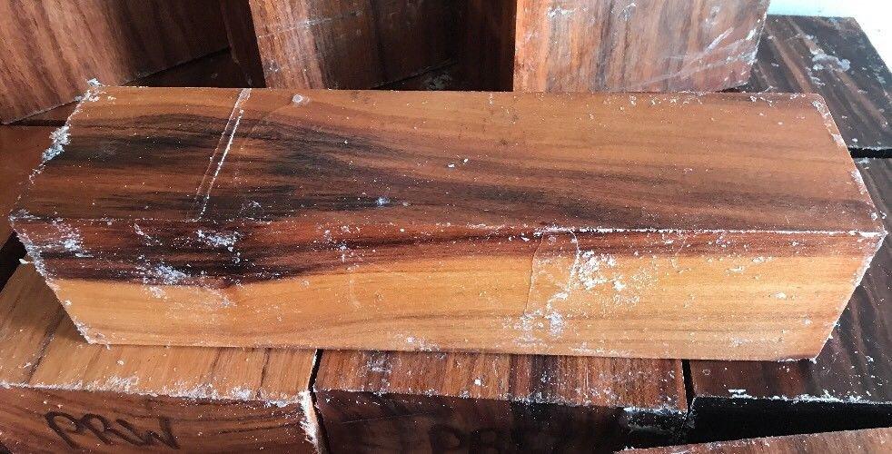 Patagonian Rosewood Bowl Blank 3x3x12 Lathe Woodturning Game Calls Handles Wood