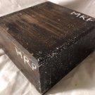 East Indian Dark Rosewood 6x6x3 Woodturning Bowls Game Calls Knife Handles Wood