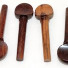 4 Rosewood Violin Pegs Violin Parts Strings Instruments Pegs Viola Parts Supply