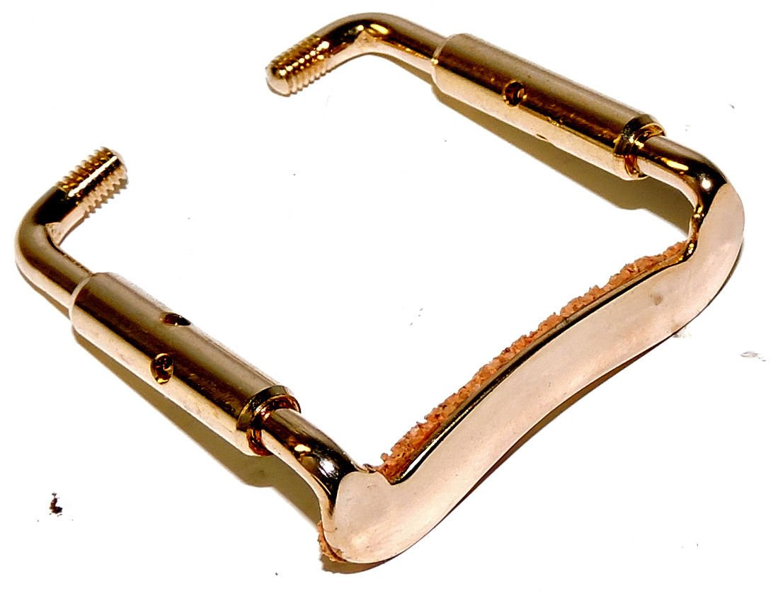 Gold Clamp For Violin Chinrest Violin Parts Strings Violin Chinrest Parts Supply