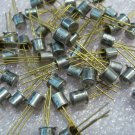QTY 1x Vintage 2N2222A NPN SILICON PLANAR SWITCHING TRANSISTOR, Gold Pins