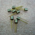QTY 8x Vintage 2N3012 Silicon PNP Transistor,  Gold Pins