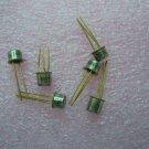 QTY 6x 2N2369 Vintage NPN SILICON PLANAR EPITAXIAL TRANSISTOR, Gold Pins