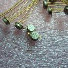 QTY 1x 2N3218 Vintage PNP Transistors, Gold Pins