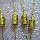 QTY 1x 1N3033 Silicon 1 Watt Metal Case Zener Diode Vintage