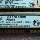 1x 2GB DDR PC-3200R 400Mhz CL3 ECC Registered Server memory IBM FRU 39M5851