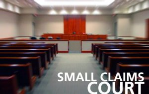 File for Small Claims up to $5,000 or Less