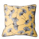 Battilo Single-sided Floral Printed Stuffed Throw Pillow Cotton Insert Filled Cushion