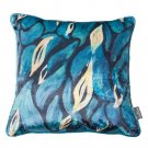 Battilo Single-sided Floral Printed Stuffed Throw Cotton Insert Filled Cushion Pattern Zipper