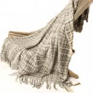 "Battilo Rustic Style Acrylic Throw Blanket Measuring 60""x 50"""
