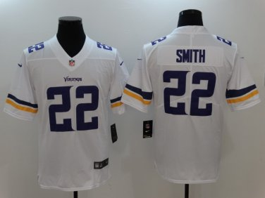 best sneakers d960b 66f84 Mens Vikings #22 Harrison Smith color rush football jersey
