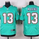 Men's Miami Dolphins #13 Dan Marino Green Elite Stitched jersey