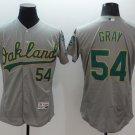 MENS   Oakland Athletics 54 Sonny Gray Green Flexbase Baseball Jersey