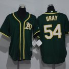 Youth Oakland Athletics #54 Sonny Gray Green Kids Cool Base Jersey
