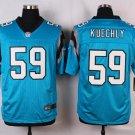 Mens  Carolina Panthers #59 Luke Kuechly Elite Stitched Football jersey