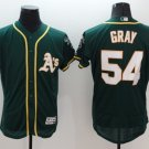 Men's Oakland Athletics 54 Sonny Gray Flexbase Baseball Jersey Green