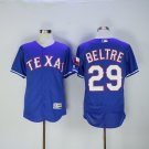 Men's  Texas Rangers 29 Adrian Beltre Blue Flexbase Baseball Jersey