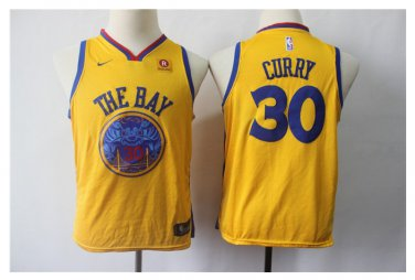 quality design 744cc 14bea Youth Golden State Warriors 30 Stephen Curry Basketball ...