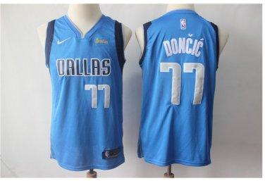 innovative design 45a98 871cf Youth Dallas Mavericks 77 Luka Doncic Jersey Basketball blue