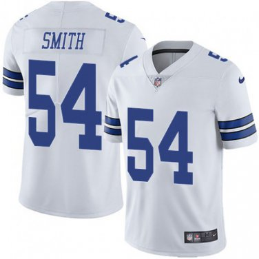 check out 83b1a f0afb Men's Dallas Cowboys #54 Jaylon Smith White Away Color Rush ...
