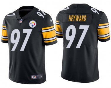 buy online 566e2 a69a1 Men's Cameron Heyward #97 Pittsburgh Steelers Black Color ...