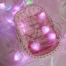 5M Peach Heart String Light Led Fairy Lamp Christmas Valentine's Light worldwide freeship