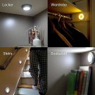 Motion Sensor Wireless Detector Light Wall Lamp Light Auto On/Off Closet Power free shipping