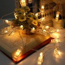 4M String Light Led Photo Clip Christmas Light (Buttery/Usb) cafe hotel decor Free shipping