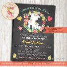 Unicorn Baby Shower Invitation - UNI05
