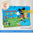 Mickey Mouse Pool Party Invitation - INV01