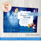 Cinderella Birthday Invitation - INV05