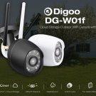 Digoo DG-W01f Cloud Storage 3.6mm Lens 720P Waterproof Outdoor WIFI Security IP Camera (1194795)