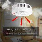 Cordless Photoelectric Smoke Detector Fire Alarm Sensor for Indoor (1193786)