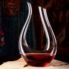 1200ml Luxurious Crystal Glass U-shaped (1110634)