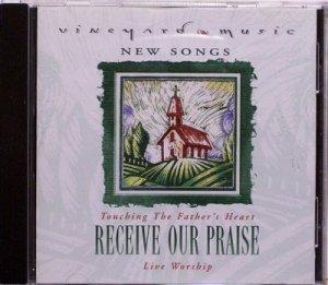 1997 Vineyard Music RECEIVE OUR PRAISE Live Worship CD - Christian