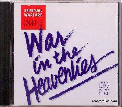Hosanna! Music  Praise & Worship CD � WAR IN THE HEAVENLIES � Original 1991 - Christian