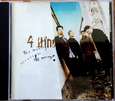 4 HIM CD - The Message - 1996 - Christian - CCM - OOP - Excellent!
