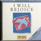 Hosanna! Music I WILL REJOICE CD - 1987 - Praise & Worhsip - David Butterbaugh - EXCELLENT