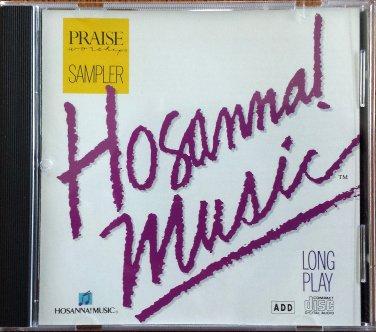 HOSANNA! MUSIC PRAISE & WORSHIP SAMPLER CD - Original 1990 - Excellent!
