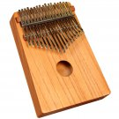 Muzikkon Thumb Piano, African Kalimba, Mabira Red cedar wood