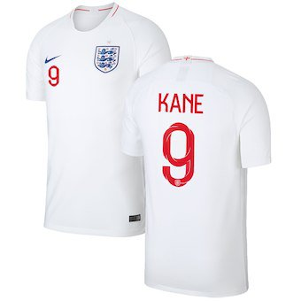 competitive price 07c2b f05c6 Men's England National Team 2018 World Cup Harry Kane Home ...