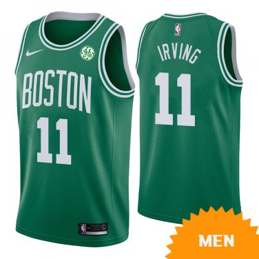 new concept 4a935 60ebc Men's Boston Celtics Kyrie Irving Icon Edition Jersey - Green
