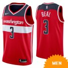 Men's Washington Wizards Bradley Beal Icon Edition Jersey - Red