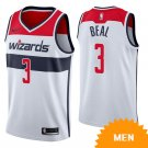 Men's Washington Wizards Bradley Beal Association Edition Jersey - White