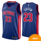 Men's Detroit Pistons Blake Griffin Icon Edition Jersey - Blue